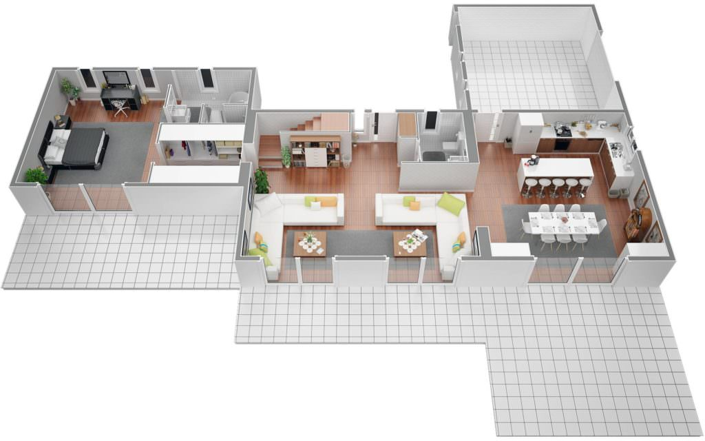 visualiser maison 150 m2