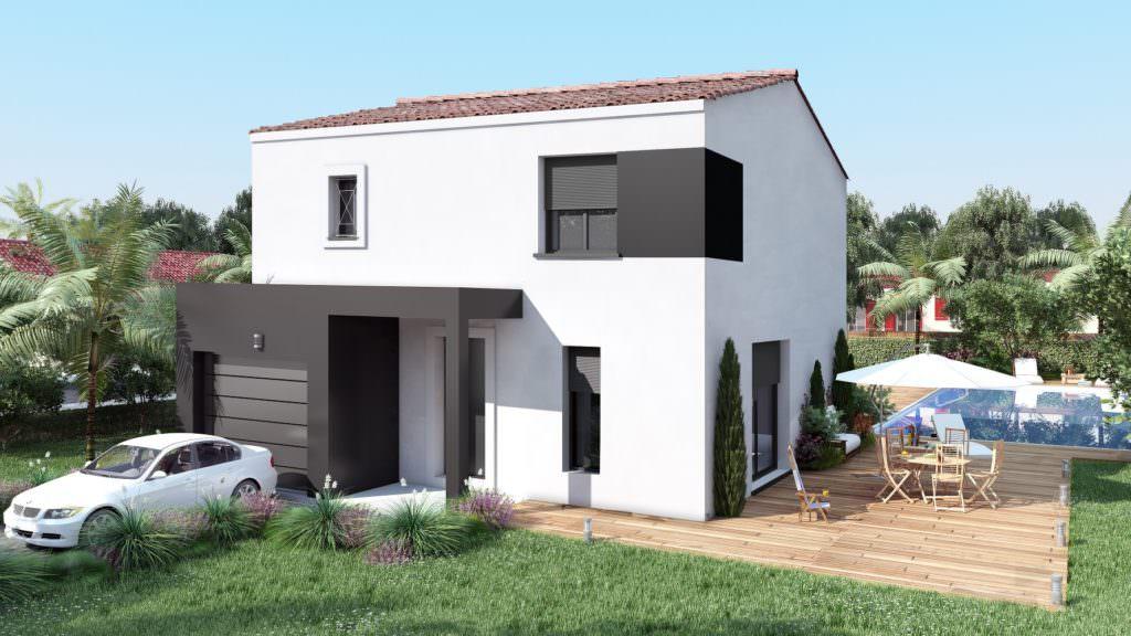 modèle maison 3 chambres