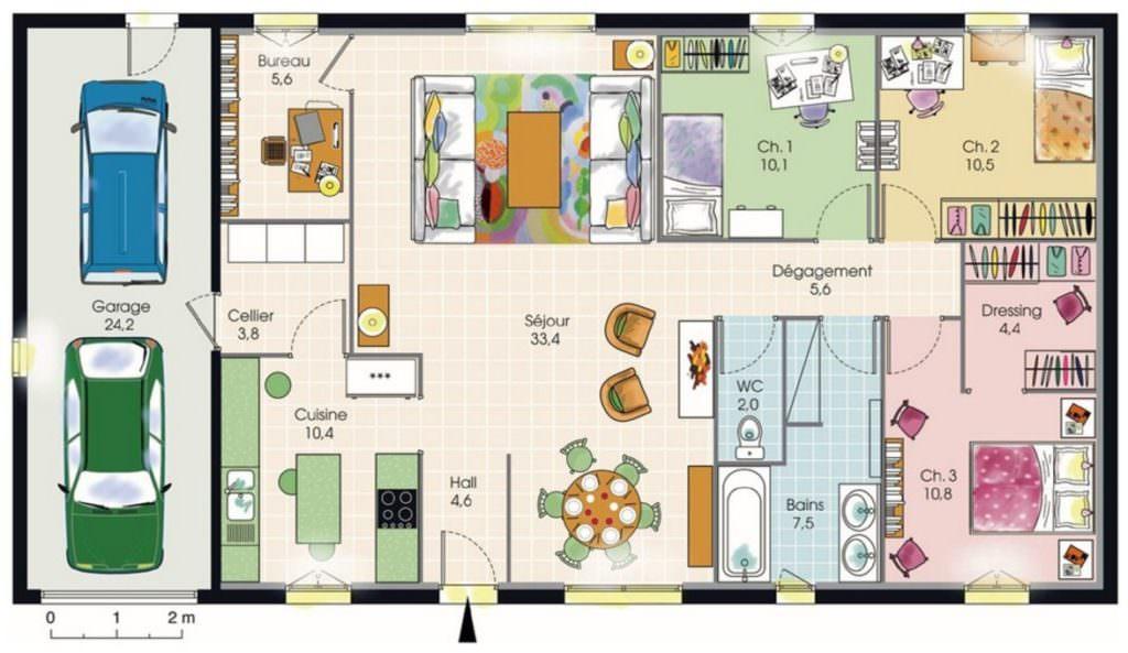 photo maison 3 chambres