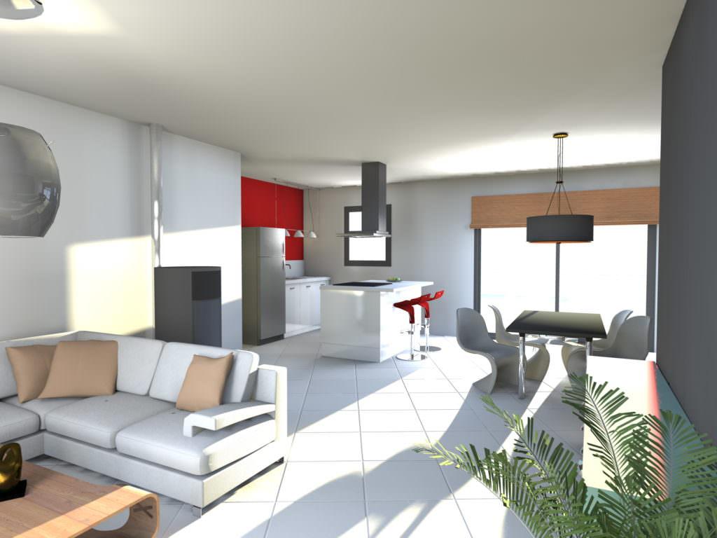 image maison 75 m2