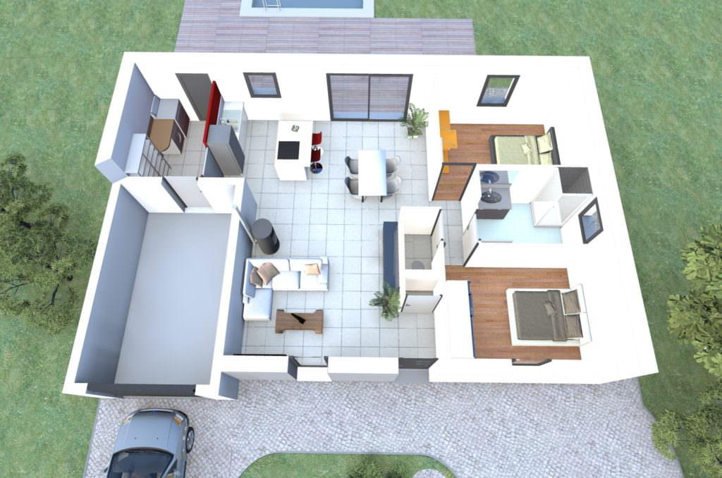 photographie maison 75 m2