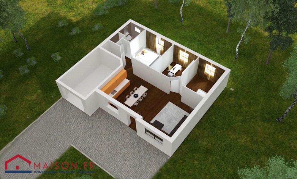 photo maison 75 m2