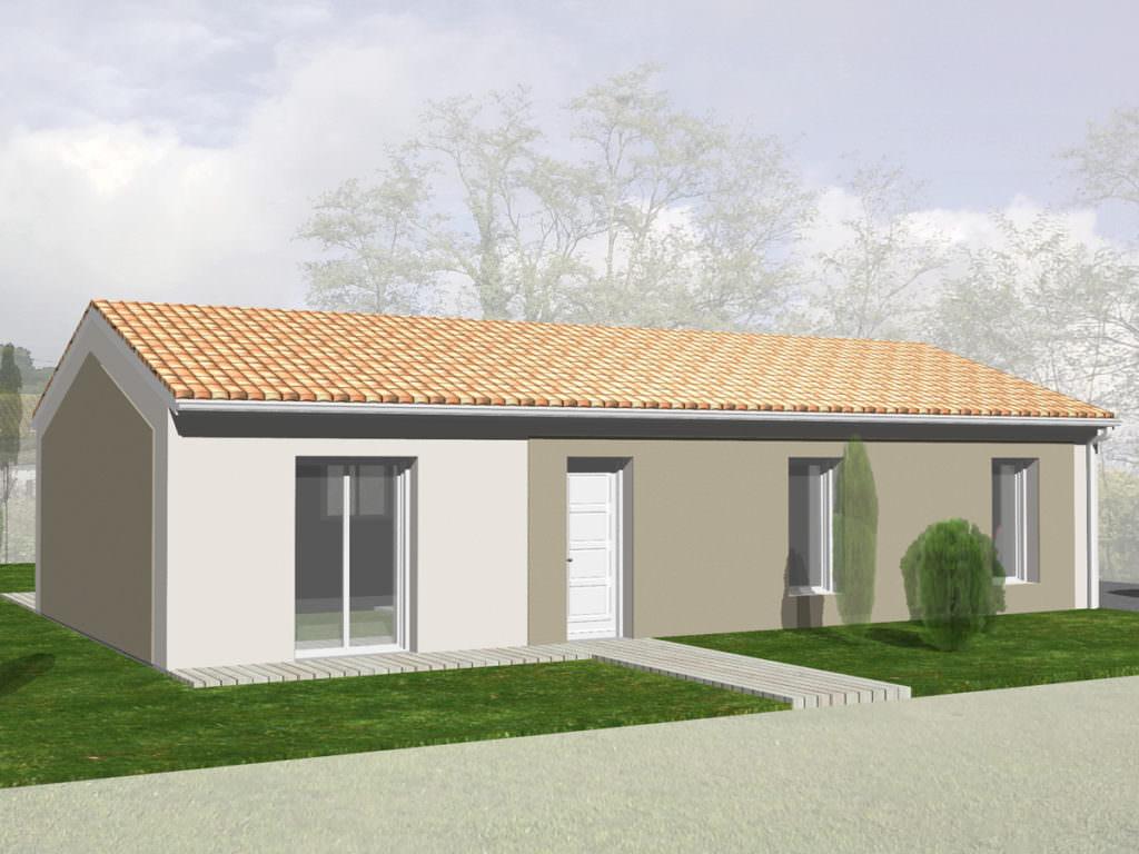 modèle maison 80000 euros