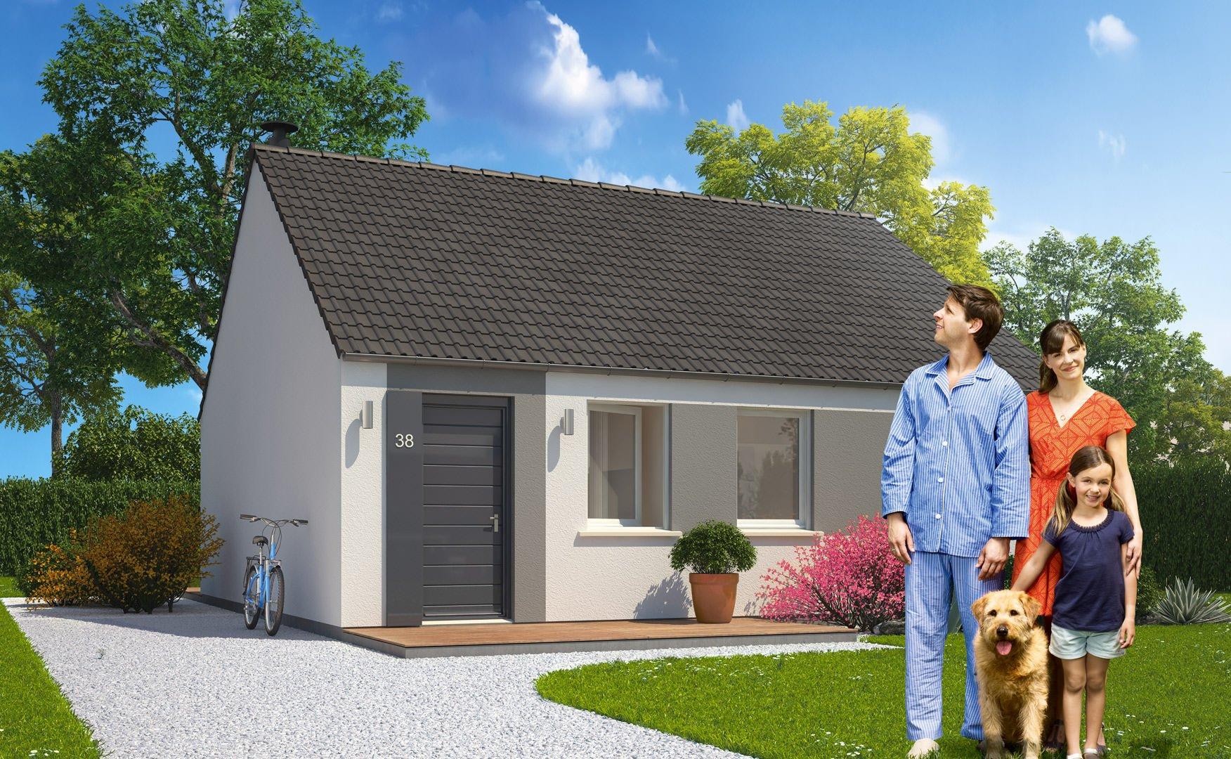 maison 80000 euros top maison. Black Bedroom Furniture Sets. Home Design Ideas