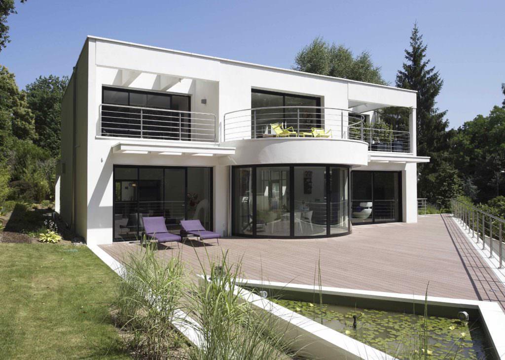 modèle maison architecte