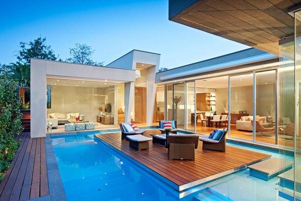 exemple maison avec piscine