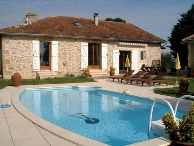 photographie maison avec piscine