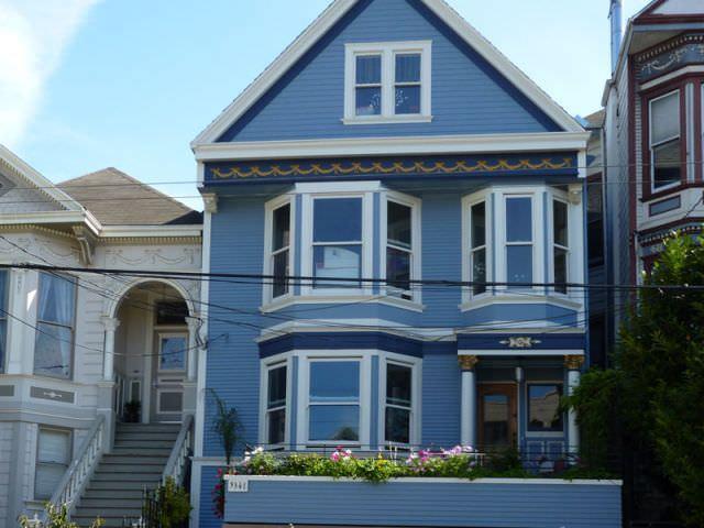 visualiser maison bleue