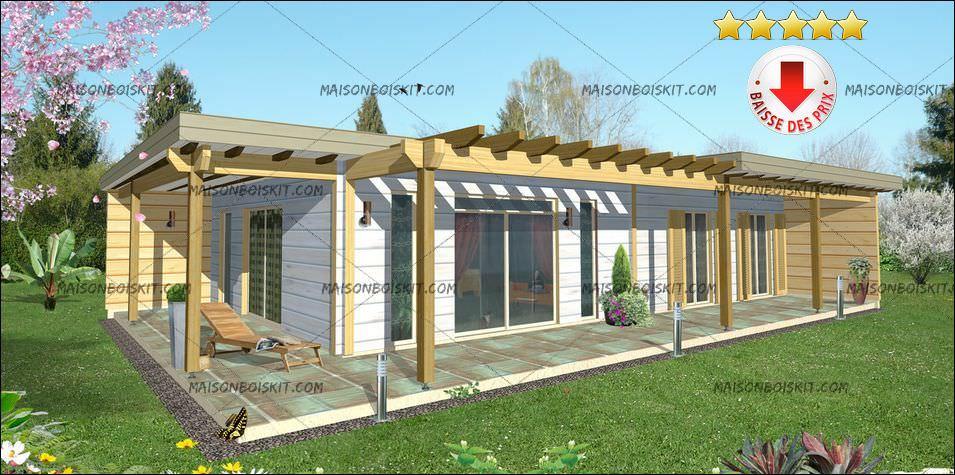 idée maison bois kit