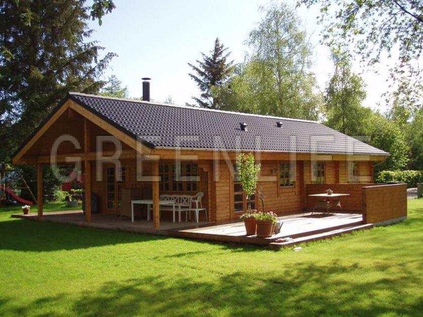 modèle maison bois kit