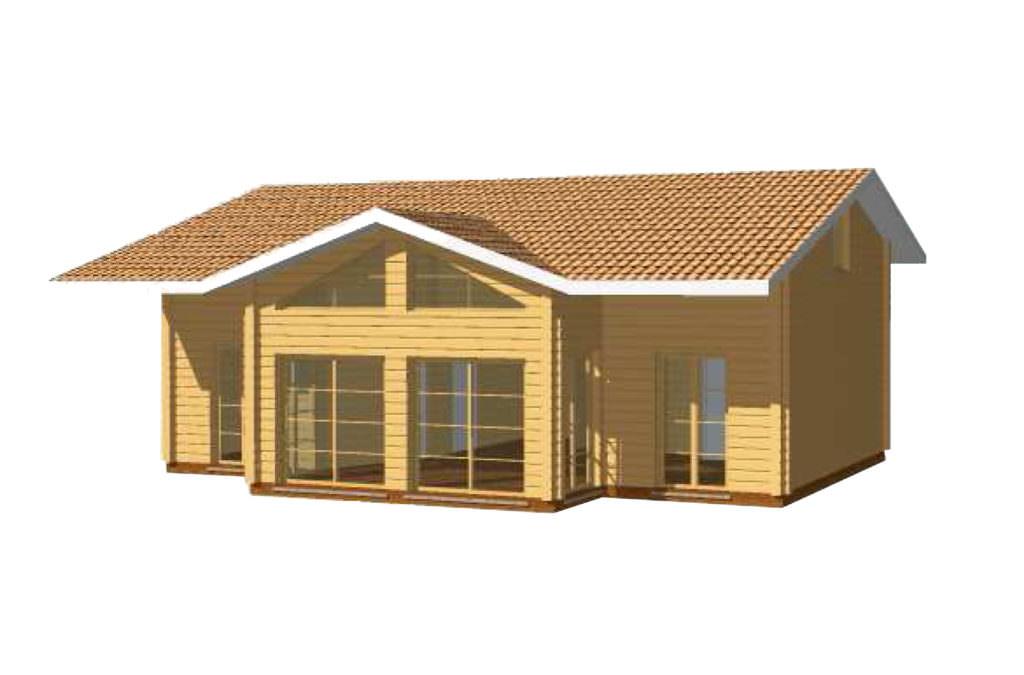 superbe maison bois kit
