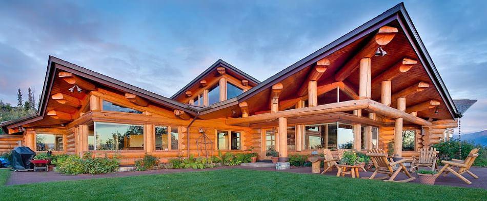 modèle maison en bois
