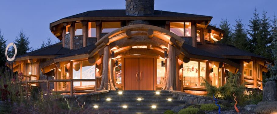 visualiser maison en bois