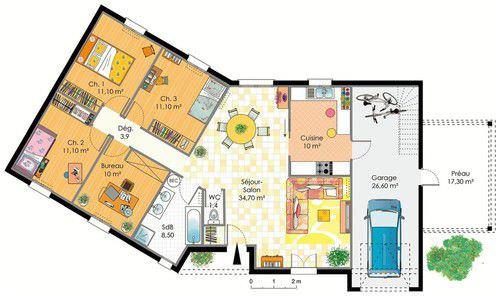 modèle maison en kit