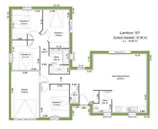maison en l top maison. Black Bedroom Furniture Sets. Home Design Ideas