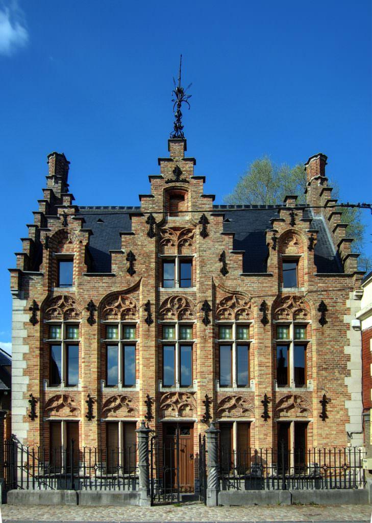 photo maison flamande