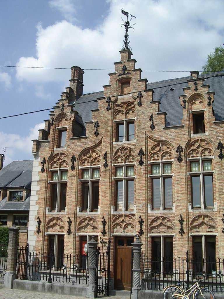 modèle maison flamande