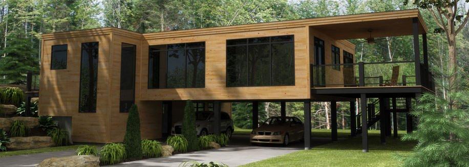 photo maison modulaire