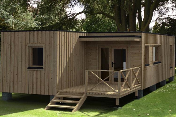 Maison modulaire top maison - Plan de maison modulaire ...
