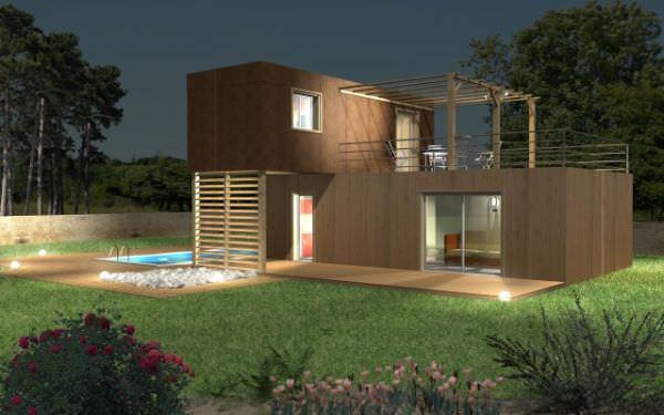 superbe maison modulaire