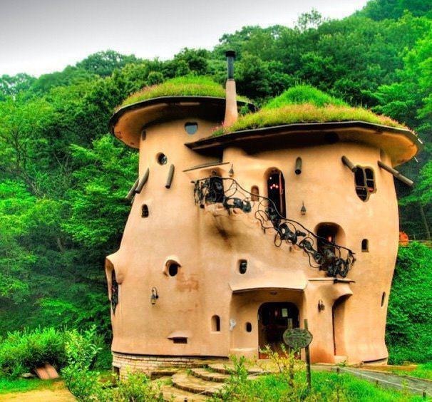 Maison originale top maison - Habitation originale javier senosiain ...
