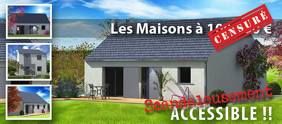 Maison pas cher top maison for Construction maison pas cher