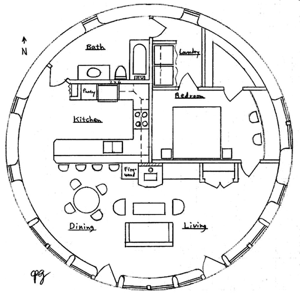 exemple maison ronde
