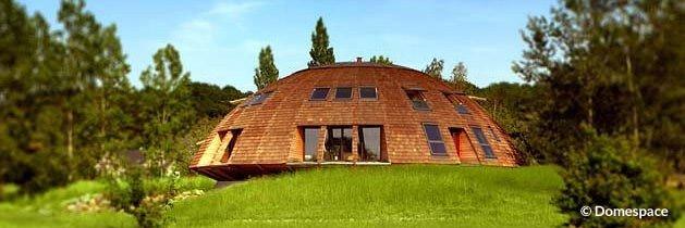 superbe maison ronde