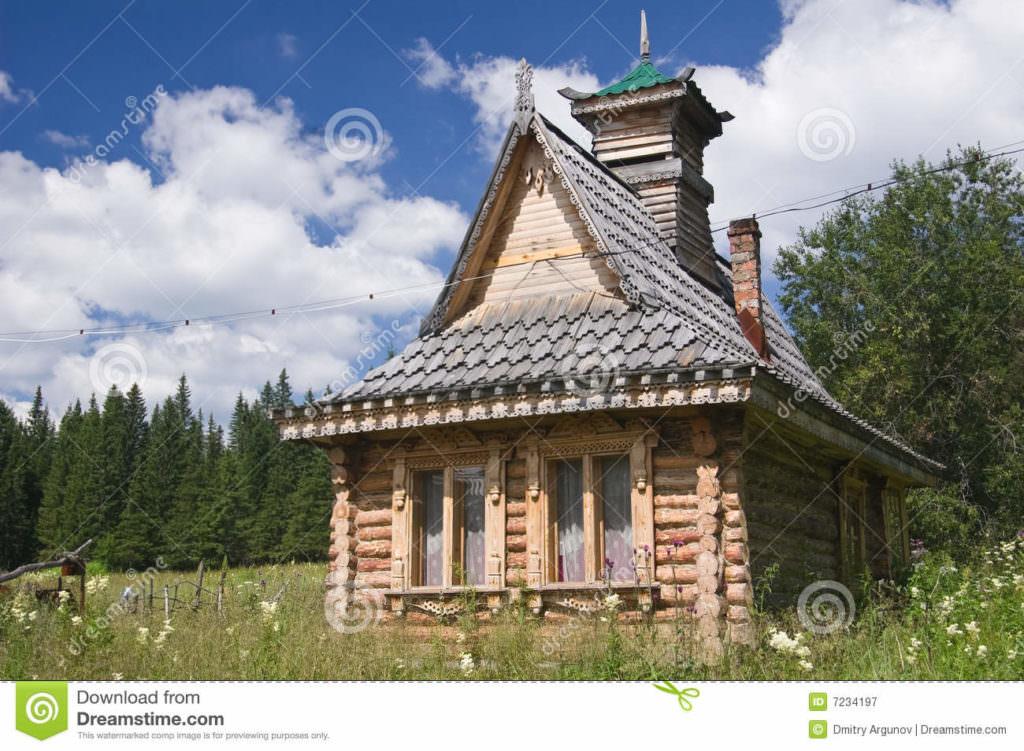 modèle maison russe