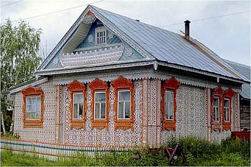 photo maison russe