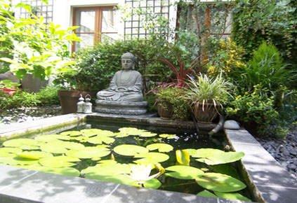 modèle maison zen