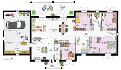 Plan Maison Contemporaine Top Maison