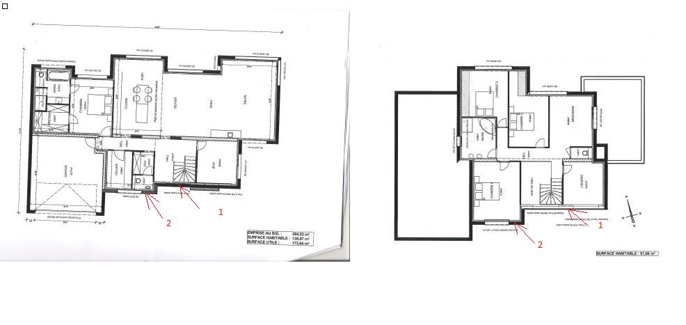 Plan maison cubique top maison for Plan de maison cubique