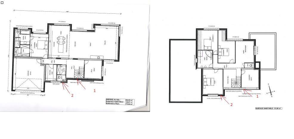 idée plan maison cubique