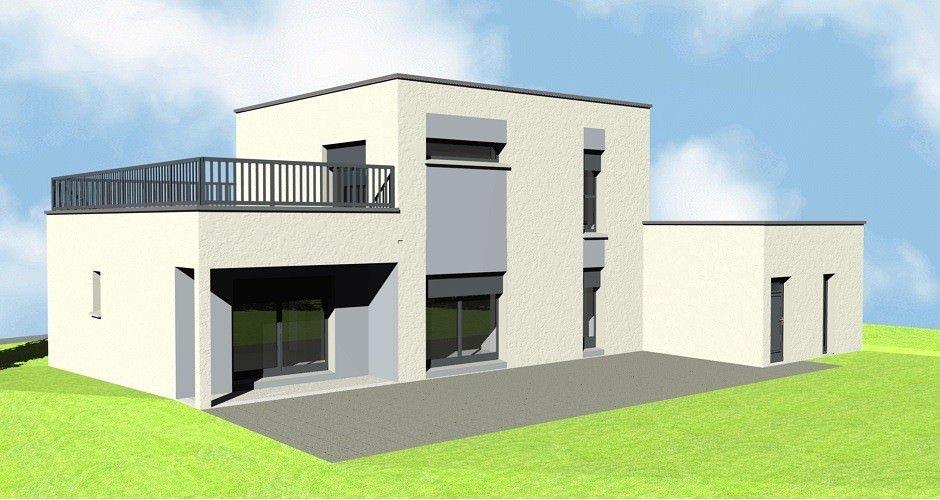 exemple plan maison cubique