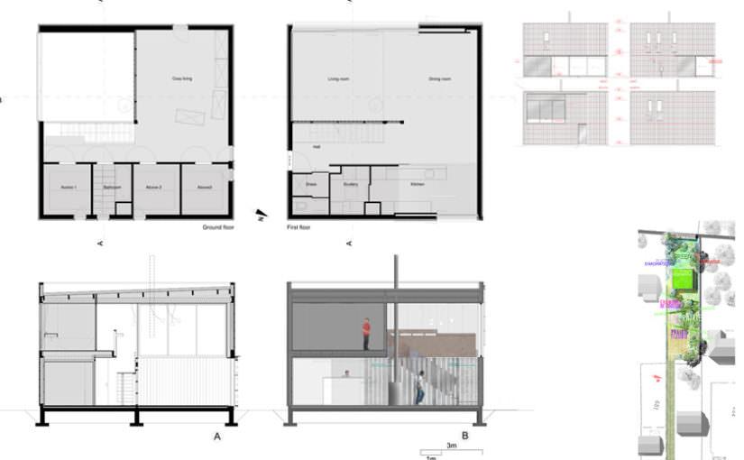 Plan maison cubique dz53 jornalagora - Plan de maison cubique ...