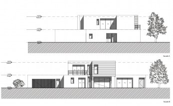 visualiser plan maison moderne