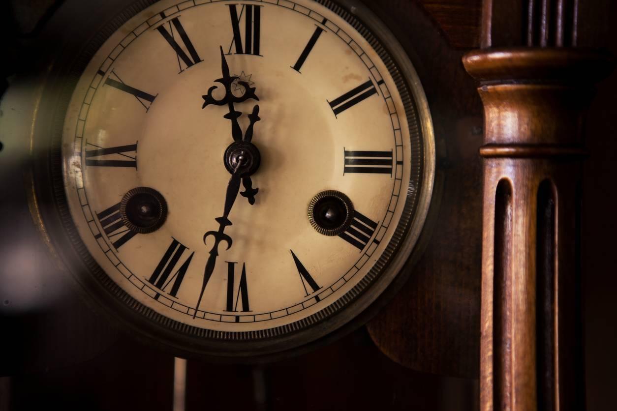 horloge industrielle