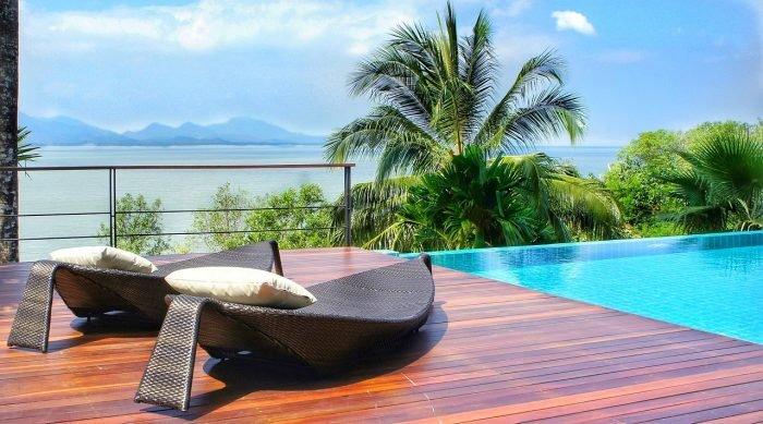 Une piscine de luxe