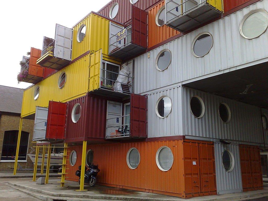 maisons en container