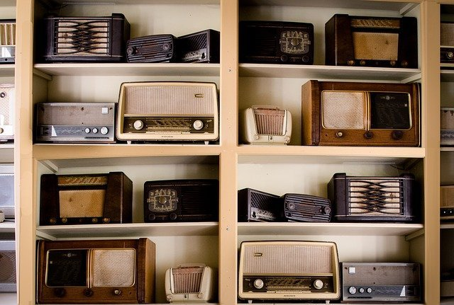 collection radio vintage