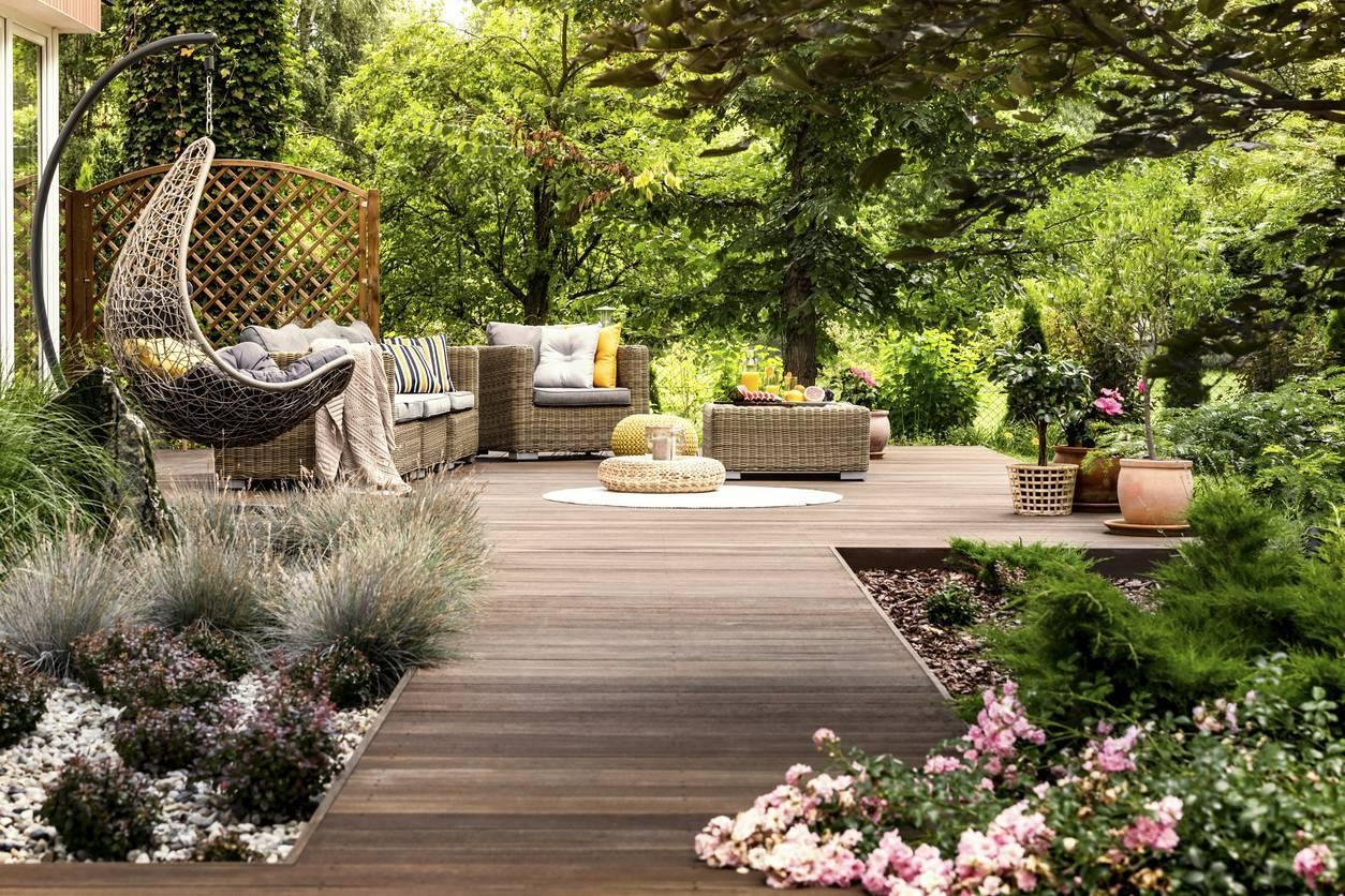 jardins terrasse délimiter