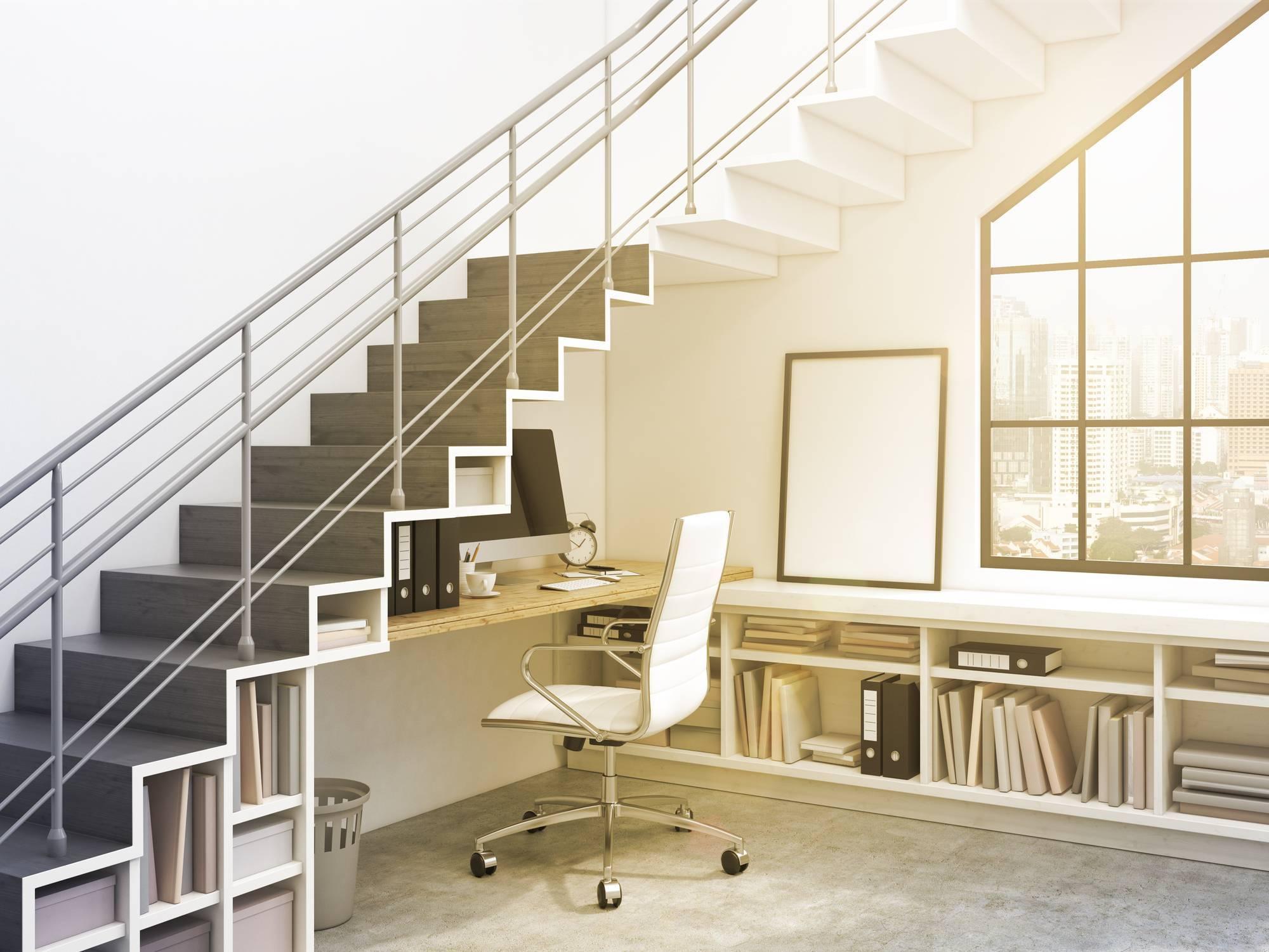 aménagement escalier meuble sur mesure