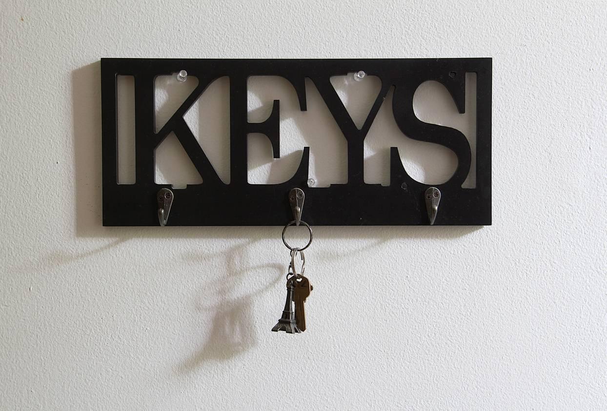 solutions pour ranger ses clés