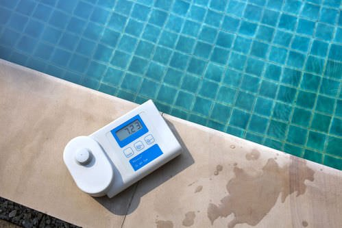 PH mètre électronique pour piscine