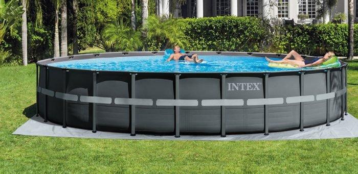 grande piscine tubulaire intex ronde