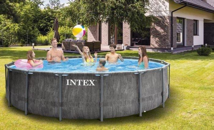piscine tubulaire ronde intex : une piscine de qualité à un prix très accessible