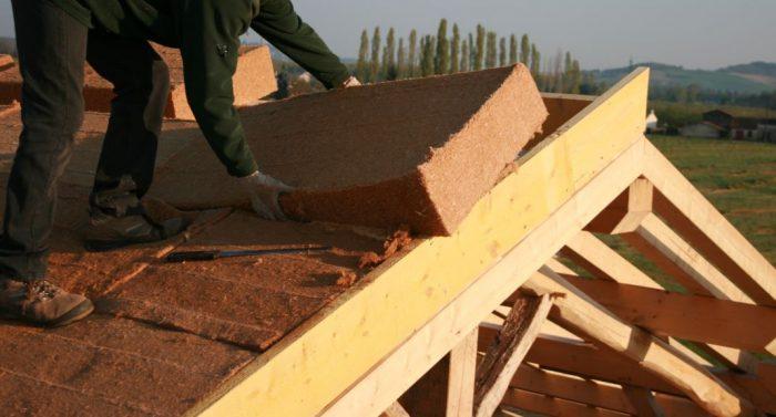 toiture isolant fibre bois