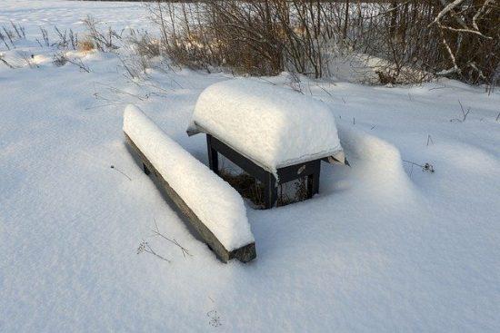 Quel salon de jardin peut rester dehors en hiver?