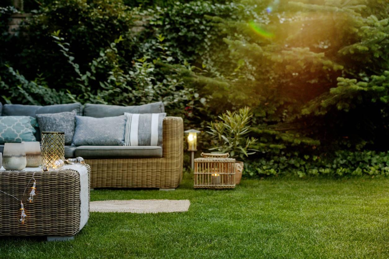 mobilier jardin résistance intempéries